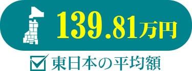 東日本の平均額